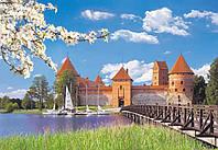 Пазлы Castorland Замок Тракай, Литва
