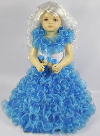 Детское платье пышное в двух цветах