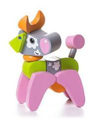Деревянная игрушка Коровка Акробат, Cubika