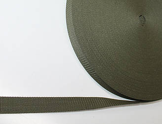 Лента ременная РЕПС 25 мм Хаки.