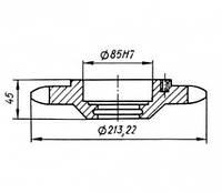 5.01-03-08 Звездочка КШП-5 (погрузчик Р6-КШП-6) z=16, t=38.1