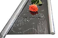 "Пленка для цветов ""Галактика"" 0,7 кг*500мм"