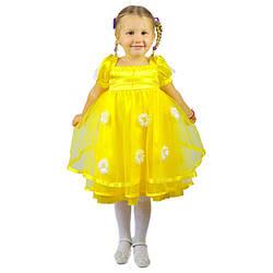 Детское карнавальное платье Ромашка