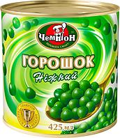 """Горошек зеленый консервированный ТМ """"Чемпион"""", 425мл"""