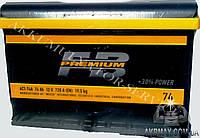 Аккумулятор автомобильный стартерный FIRE BALL Premium 74Ah 720A