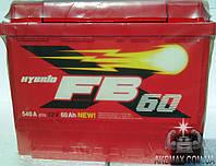 Аккумулятор автомобильный стартерный FIRE BALL стандарт  60Ah 540A