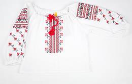 Блузка - вышиванка для девочки Piccolo