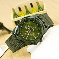 Военные часы Dobroa с зеленым циферблатом