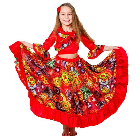 Костюм карнавальный для девочки Цыганочка
