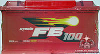 Аккумулятор автомобильный стартерный FIRE BALL стандарт  100Ah 800A