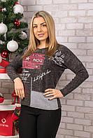 Женский теплый свитер. RBOSSI F27. Размер 44-46.