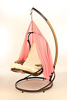 Кокон. Подвесные качели EVO с подушкой и шатром