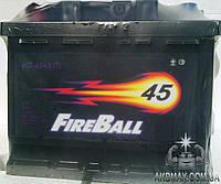 Аккумулятор автомобильный стартерный FIRE BALL эконом  45Ah 330A
