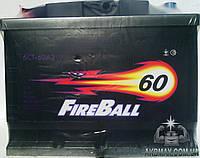 Аккумулятор автомобильный стартерный FIRE BALL эконом  60Ah 480A
