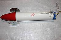 Торпеда пластикова для протяжки шнура, фото 1