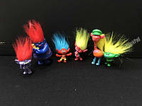 Игрушки-фигурки Тролли с волосами  ( Trolls )