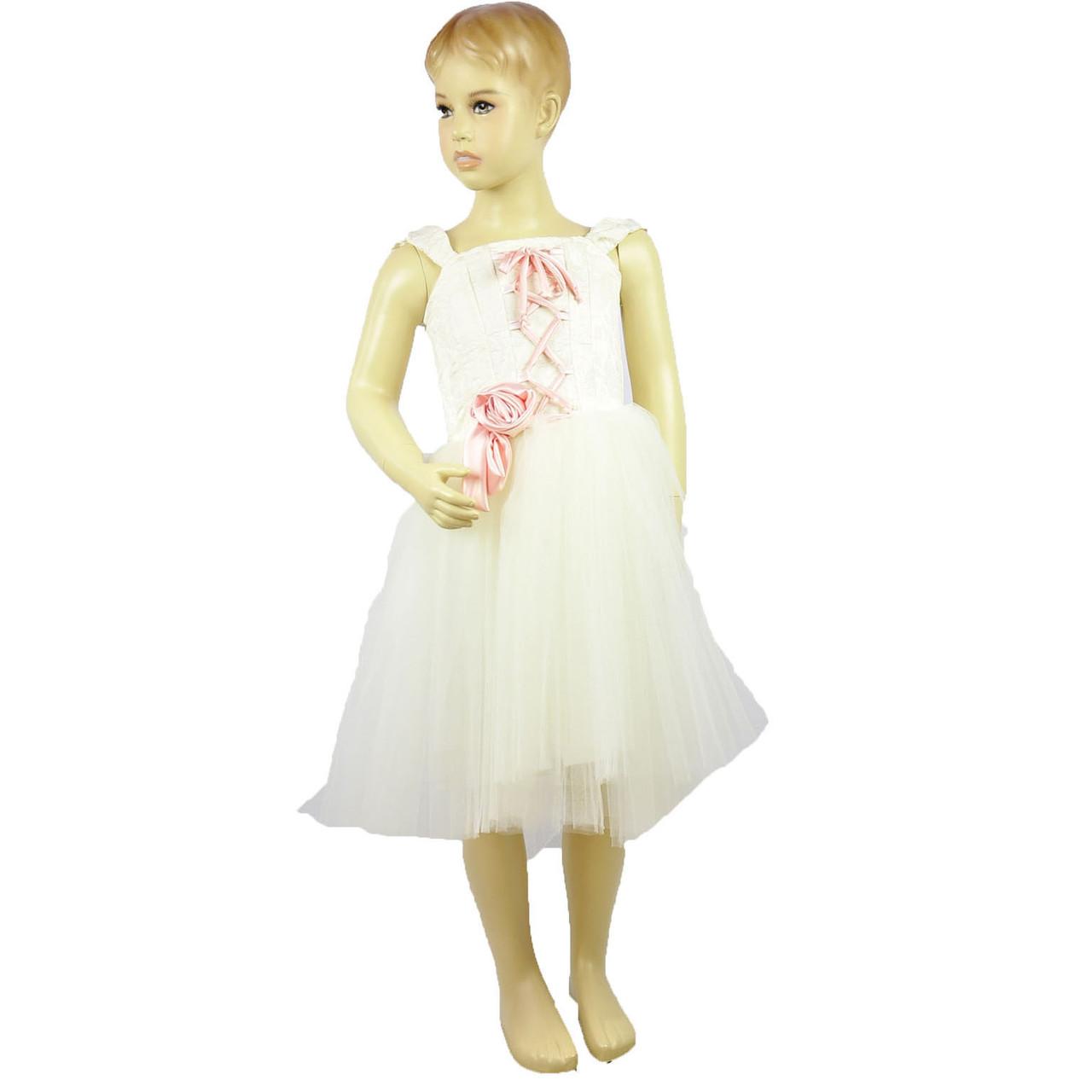 Детское нарядное платье для девочки Марлен