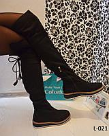 Сапоги-чулки женские модные, на платформе деми, женская стильная обувь