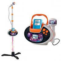 Музыкальный набор с разъемом для МРЗ плеера Микрофон на стойке Simba 6838615