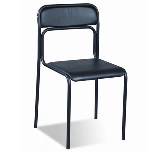 Ascona black (Аскона) офисный стул для посетителей