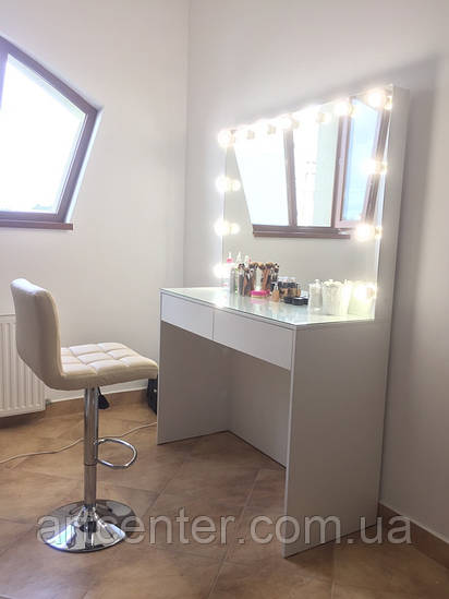 Стол для визажиста с подсветокой