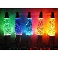Лава лампа с блестками 38см , фото 1