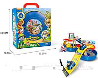 Детский игрушечный гараж Щенячий Патруль