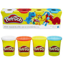 Пластилиновая паста Play-Doh Hasbro, 4 цвета