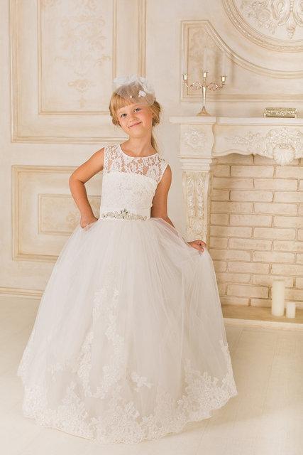 Платье нарядное для девочки Aisha от дизайнера Valentina Gladun