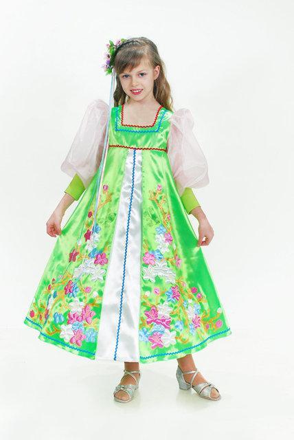 Костюм карнавальный для девочки Весна цветущая