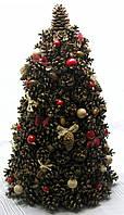 Новогодний, рождественский декор «Елка из шишек в экостиле», фото 1