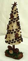 Новогодний, рождественский декор «Ель «Стиль кофе» (27 см)