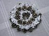 Новогодний, рождественский венок в экостиле из сосновых шишек