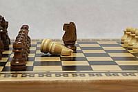 Набор бамбукоые шахматы,нарды
