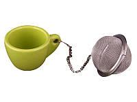 Фильтр для чая с подставкой Lefard