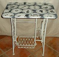 Столик-консоль с навесным зеркалом в раме, фото 1