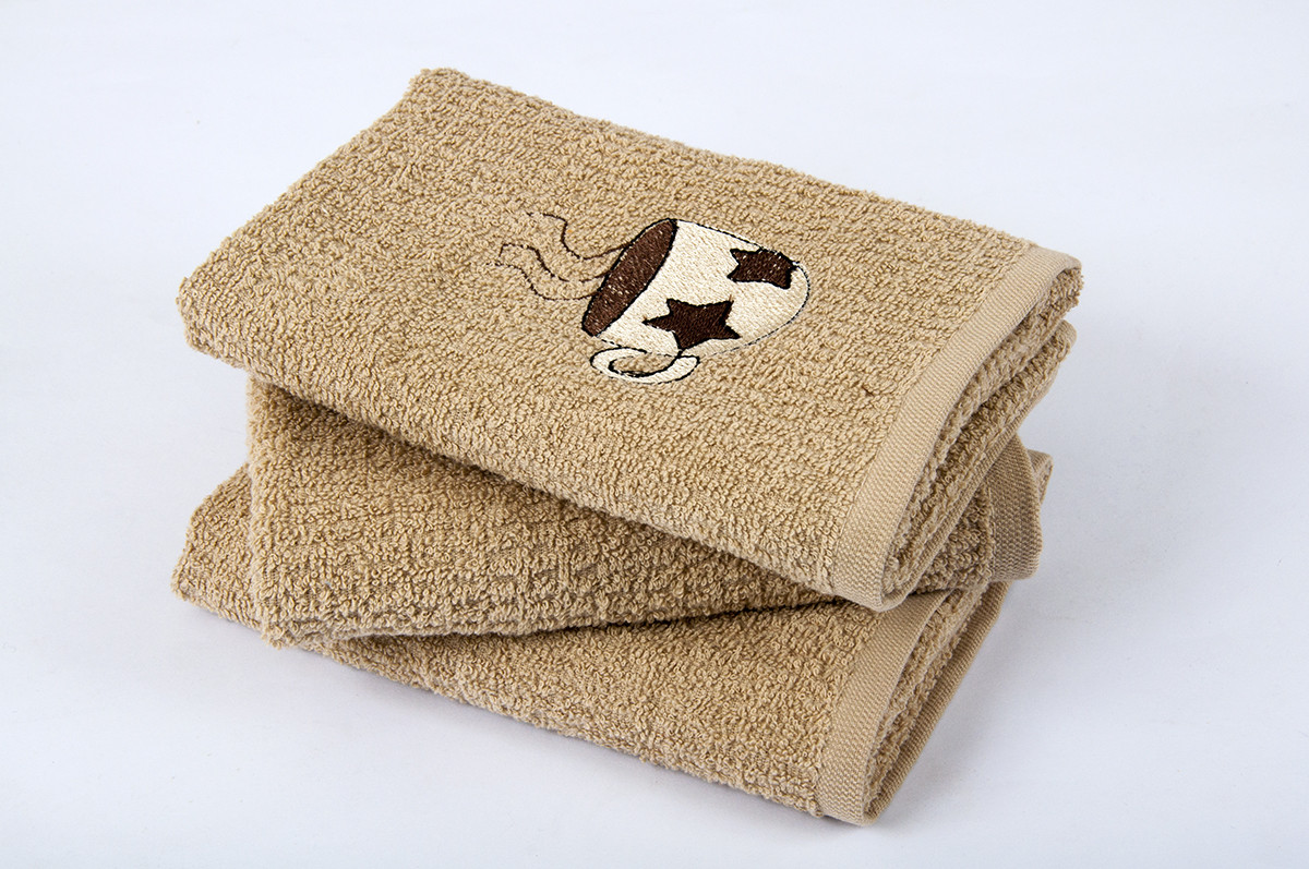 Полотенце кухонное 40х60 Cup Coffee коричневый Lotus