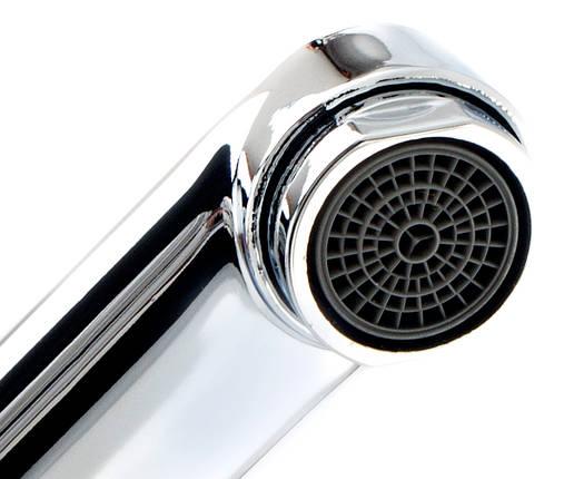 Смеситель для ванны+лейка и шланг POTATO P2206, фото 2