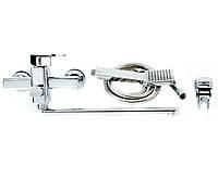 Смеситель для ванны+лейка и шланг POTATO P2206