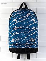 Рюкзак (с отделением для ноутбука 17″) Staff - Print 27 L Art. CBS0021 (синий | белый)