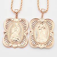 Иконка Богородица 32948 размер 41*25 мм, позолота РО, фото 1