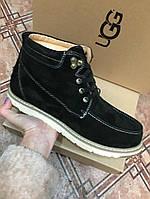 Ботинки мужские  Ugg Original  черные,бежевые