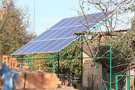 """Солнечная станция под """"зеленый тариф"""" мощностью 5 кВт"""