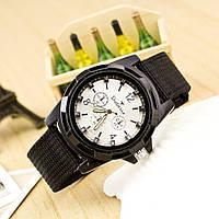 Военные часы Dobroa с белым циферблатом