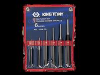 Выколотки в наборе  6 ед. 2-8мм в чехле King-Tony 1006PR