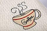 Полотенце кухонное 40х60 Cup Coffee крем Lotus, фото 2