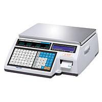 Весы торговые CAS CL5000J-IB до 15 кг с печатью этикеток, без стойки