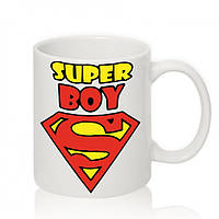 Авторская чашка 'SUPER Boy'