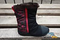 Сапоги женские зимние Quechua essensole. Оригинал. Текстиль, 36р. Сток.