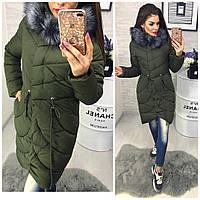 Стильная зимняя женская куртка, разные цвета